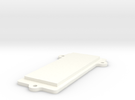 DNA40 Big Screen Mounting Plate Clamp in White Strong & Flexible Polished
