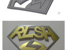 Improved RLSH badge in White Strong & Flexible Polished