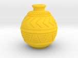 (1/4 scale) African pot themed bottle