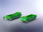 MT-T Full Tracked Carrier / Prime Mover 1/285