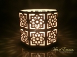 Tall Islamic Star Knot Lantern