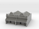 N Scale Terrace House 1 Storey (Double) 1:160