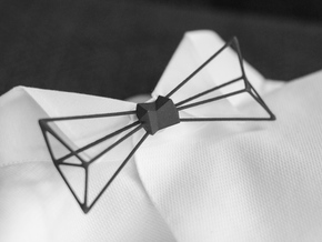 Bow Tie and Necklace in one in Black Strong & Flexible