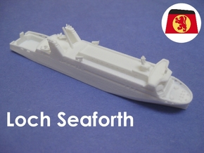 MV Loch Seaforth (1:1200) in White Strong & Flexible