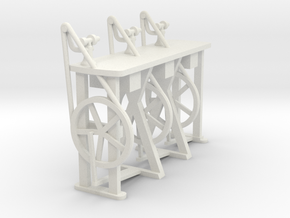 Classic milling machine table / 2014 12 04 Fraesti in White Strong & Flexible