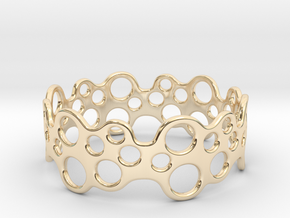 Bubbles Bracelet 70 in 14k Gold Plated