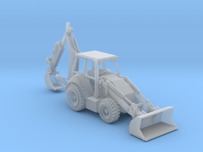 Cat 430F Backhoe N Scale in Frosted Ultra Detail