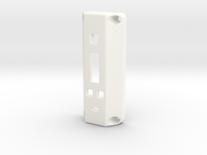 DNA200 1590A Replacement Lid in White Strong & Flexible Polished