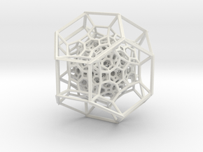 Inversion of 225 Truncated Octahedra in White Strong & Flexible