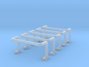 Ladder Rung 5pcs in Frosted Ultra Detail