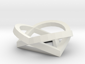 PATHS White Plastic1 in White Strong & Flexible