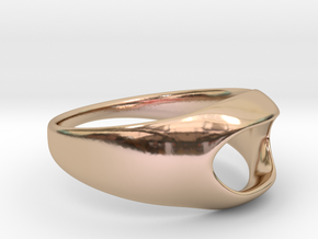 Back to basic collection - size 6 US in 14k Rose Gold Plated