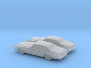 1/160 2X 1978 Cadillac Eldorado in Frosted Ultra Detail