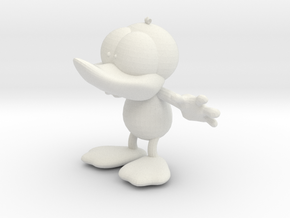 Dummy Duck in White Strong & Flexible