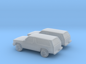 1/160 2X 1984 Chevrolet S10 Blazer in Frosted Ultra Detail