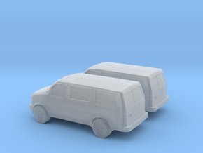 1/160 2X 1995-05 Chevrolet Astro Van in Frosted Ultra Detail
