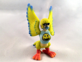Happy Harpy in Full Color Sandstone