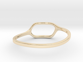 Back to basic collection - size 6 in 14K Gold