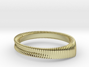 Springring (Japan 11,America 6,Britain L) in 18k Gold Plated