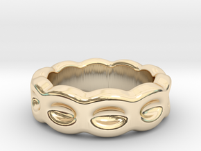 Funny Ring 17 – Italian Size 17 in 14k Gold Plated