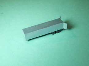 Semi Trailer / Sattelauflieger 1/285 6mm in Frosted Ultra Detail
