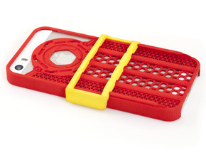 Shutter Grip Case for iPhone 5 / 5S in Red Strong & Flexible Polished