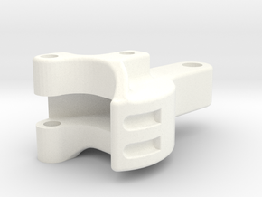 """3/4"""" scale Pilot Coupler in White Strong & Flexible Polished"""
