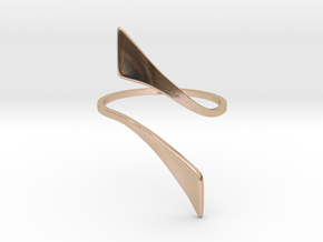 Back to basic collection -  Size 5 US in 14k Rose Gold Plated