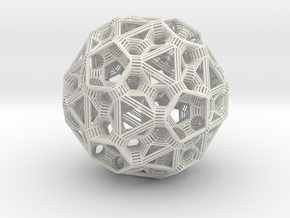 Sphere 6 in White Strong & Flexible