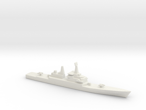 USS CGN-38 Virginia, 1/2400 in White Strong & Flexible