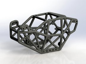 Goat v3 1/24th scale micro rock crawler chassis in Black Strong & Flexible