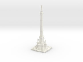 Soldiers' & Sailors' Civil War Monument in White Strong & Flexible