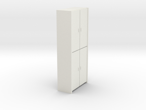 A 005 - 1 Schrank cupboard  1:50 in White Strong & Flexible