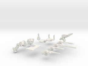 28mm scale infantry - Overseer (ball joints) in White Strong & Flexible