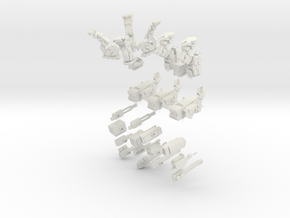 28mm scale mech - Omnifex (10cm high) in White Strong & Flexible