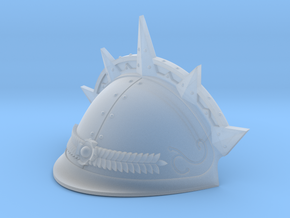 Spiked Shoulder pad for Knight Titan RIGHT in Frosted Extreme Detail