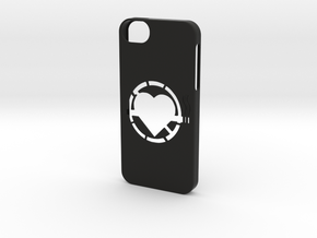 Iphone 5/5s  no smoking case in Black Strong & Flexible