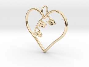 Lily of the Valley in 14k Gold Plated
