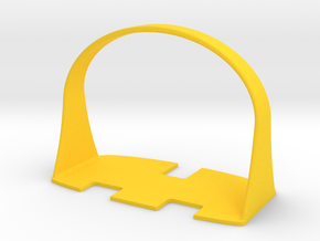 UK Plug Pull in Yellow Strong & Flexible Polished