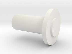 Support flange (Atomic)  to polish ( Mini-Z ) in White Strong & Flexible