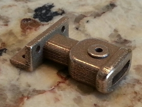 Link Pin Coupler 1:20.32 scale in Stainless Steel