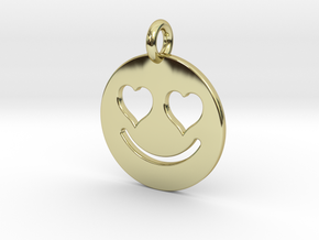 Smilie Love in 18k Gold Plated