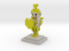 A Knight to Remember in Full Color Sandstone
