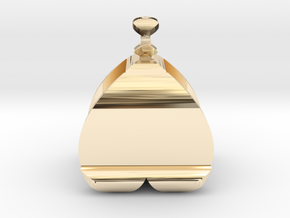 I�U Shape 2 - View 2 in 14k Gold Plated