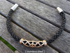 Spiderweb Bracelet in Stainless Steel