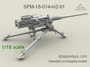 1/18 SPM-18-014-M2-01 Browning M2 cal.50 in Frosted Extreme Detail