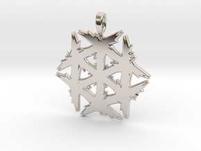 ANCIENT FROST in Rhodium Plated