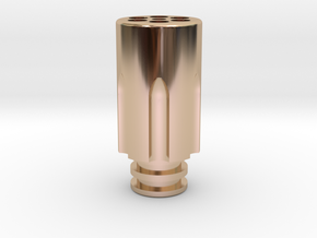 Revolver Chamber Driptip in 14k Rose Gold Plated