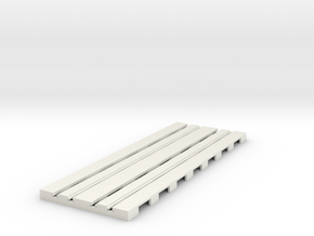 P-65stp-straight-dbl-track-110-75-pl-1a in White Strong & Flexible