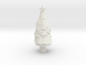 Paint Your Own Mini Christmas Tree in White Strong & Flexible